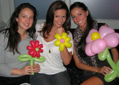 Danny Schlesinger balloon flowers